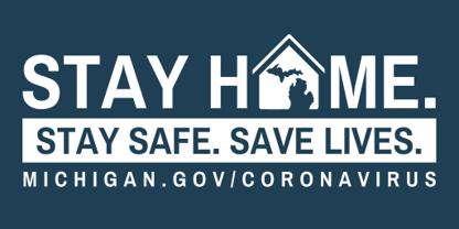 """El viaje entre residencias en Michigan está prohibido en las nuevas restricciones de la orden de """"Quedarse en casa"""""""