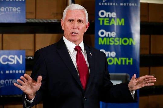 El vicepresidente Mike Pence visitará Michigan el jueves