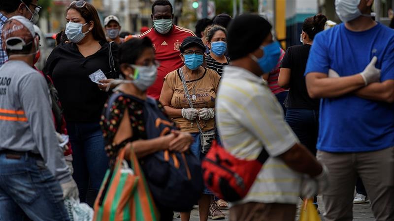 Latinoamérica rebasa los 2 millones de casos de covid-19