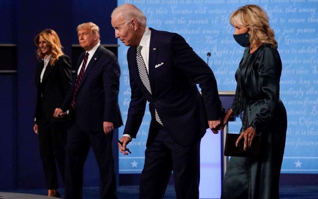 Trump VS Biden: Un debate en el que todos perdieron