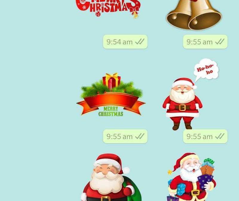 WhatsApp agrega pegatinas de Feliz Navidad: cómo encontrar, compartir con amigos y familiares