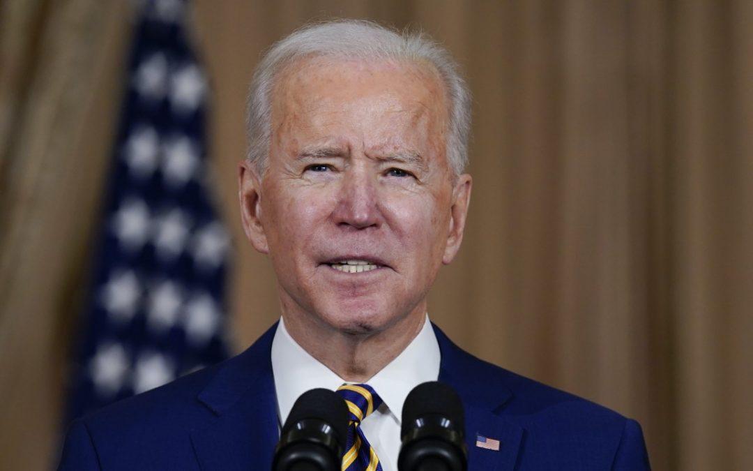 El presidente Biden programa el primer discurso de su presidencia en horario estelar