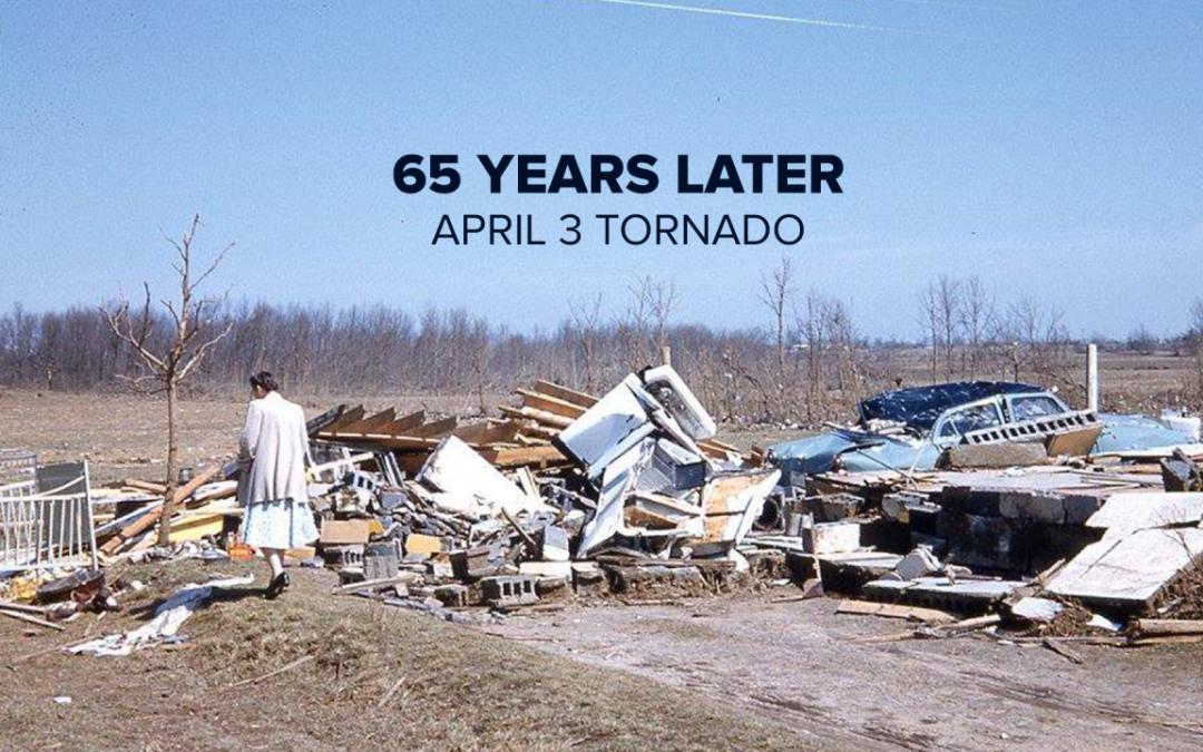 65 años desde el 3 de abril, cuando los tornados azotaron West Michigan