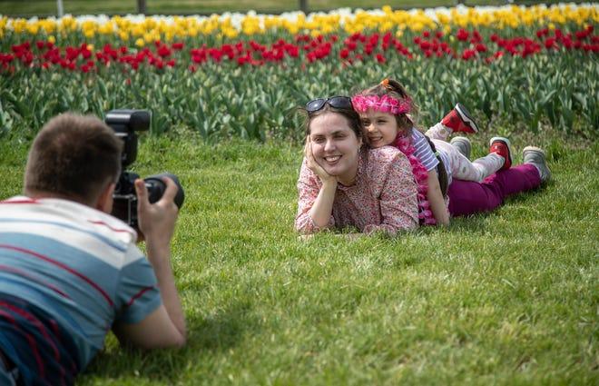 El primer fin de semana de Tulip Time es un éxito, a pesar del virus