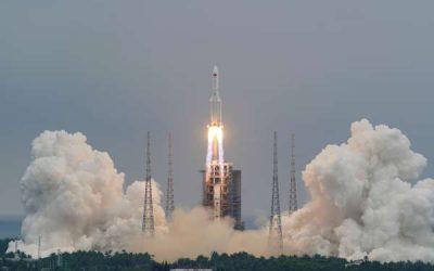 Los restos del cohete chino se desintegran en su reentrada en la atmósfera terrestre y caen en el Océano Índico